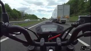 Honda MSX (Grom) 2017 With Full Yoshimura (TopSpeed on Highway)