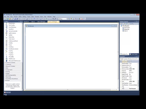 Hot To Make A Tabbed Web Browser In Visual basic - How To Make A Tabbed Web Browser In Visual Basic 2008 2010 VB