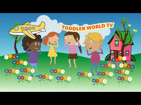 The Parts of You and Me | body parts song for kids | human anatomy for children