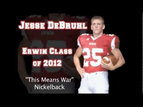 Jesse debruhl 2012 football highlights
