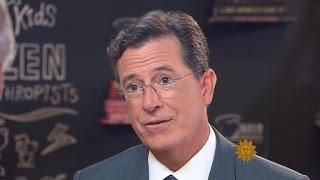 Stephen Colbert on marrying the girl next door