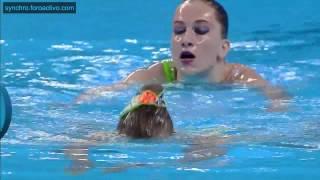 Tatyana Nikitina Yekaterina Valiulina Aze Duet Preliminary Baku European Games 2015