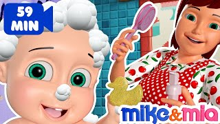 Bath Song | Baby Bath Time | Nursery Rhymes for Babies