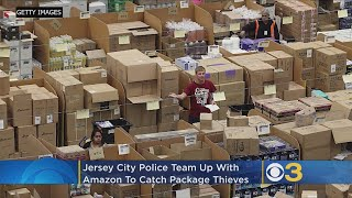 Jersey City Police Use Fake Amazon Box, GPS To Catch Would-Be Thieves