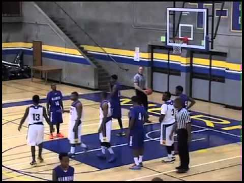 Troy Moon basketball: College of Alameda vs Merritt College