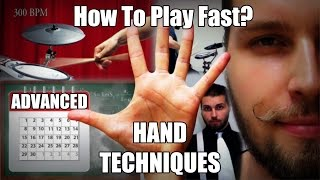 How To Play Fast? (Advanced Hand Techniques)