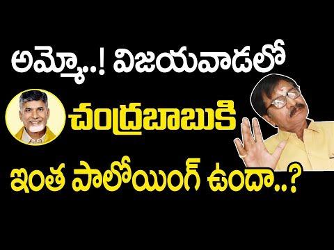 ఆమ్మో..! విజయవాడలో చంద్రబాబుకి ఇంత ఫాలోయింగ్ ఉందా.? | Vijayawada Public Opinion | AP elections 2019