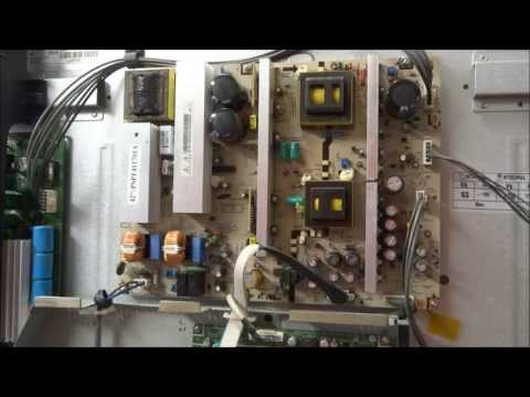 HPT4254 Samsung Plasma Power Supply Repair Clicking Off and On BN44-00159 BN44-00161 BN44-00188