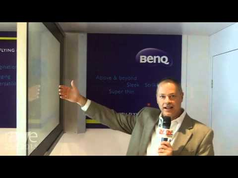 DSE 2015: BenQ Shows the World's First Perpendicular, Dual Sided Wall Mounted Display