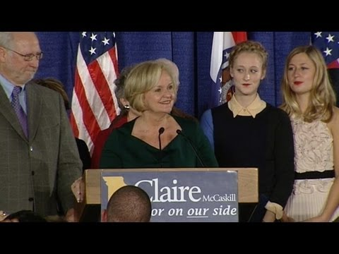 Election 2012: Claire McCaskill Wins Missouri Senate Race