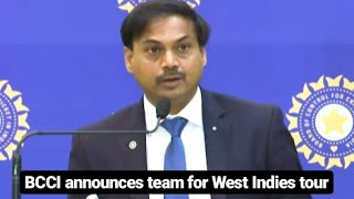 MS Dhoni knows when to retire: BCCI Chief Selector MSK Prasad | BCCI announces squad for Westindies