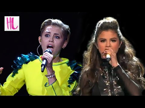 Miley Cyrus Pressuring Selena Gomez To Be Sexier