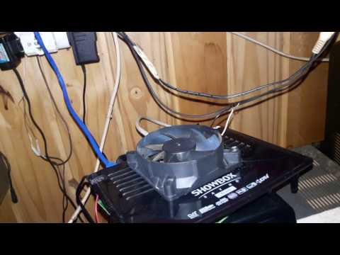 Show Box sat hd  Plus como estalar um cooler