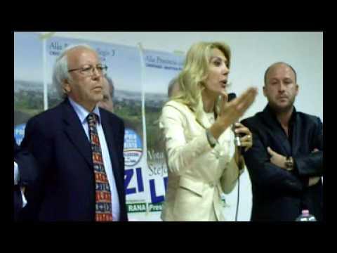 On. Gabriella Carlucci a Crispiano per Stefano Liuzzi candidato alla Provincia di Taranto