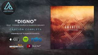 "Marco Barrientos - ""Digno"" Ft. Yvonne Muñoz y Marcos Brunet (Audio Oficial)"