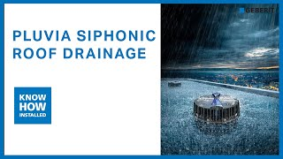 Why to choose Geberit siphonic roof drainage system over conventional