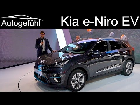 Long EV range now affordable? Kia e-Niro REVIEW all-electric eNiro - Autogefühl