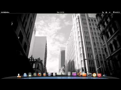 Gnome 3 Shell final en Español Ubuntu 11.04 Natty Narwhal y Suse 11.4