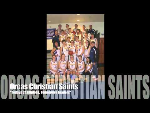 Orcas Christian School Saints Basketball Promo - 02/07/2014