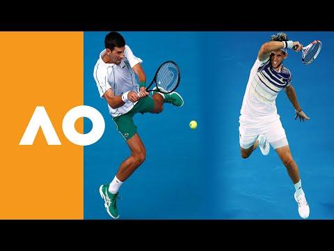 Road to the Final   Novak Djokovic vs Dominic Thiem