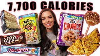 FULL CHEAT DAY | 7,700 Calories | + GIVEAWAY (closed)