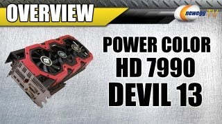 Newegg TV_ PowerColor DEVIL13 Radeon HD 7990 6GB Video Card Overview w/Benchmarks