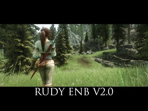 TES V - Skyrim Mods: Rudy ENB v2.0