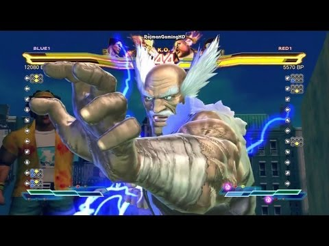 Street Fighter X Tekken Poongko (Kazuya x Heihachi) vs hero5253 (Juri x Rufus) TRUE-HD QUALITY