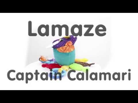Lamaze Captain Calamari 360º view and Features