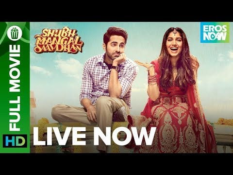 Shubh Mangal Saavdhan | Full Movie LIVE On Eros Now | Ayushmann Khurrana & Bhumi Pednekar