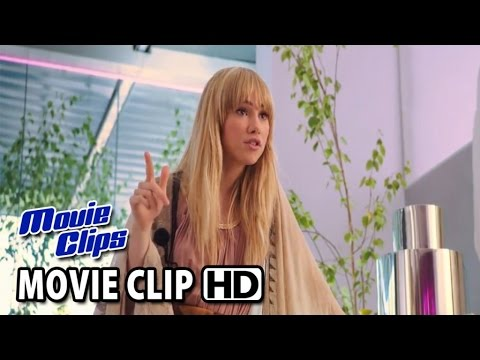 Love, Rosie Movie CLIP - You Work Here Now (2014) - Lilly Collins HD
