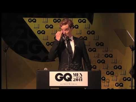 Benedict Cumberbatch Acceptance Speech - GQ Awards