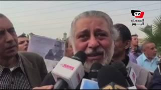 بكاء شديد للمخرج محمد النجار ناعيًا الراحل محمود عبد العزيز: «كان صديق وأخ»
