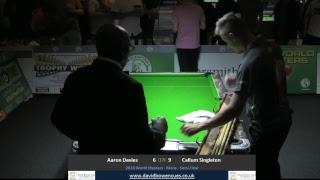 2018 World Masters -  Mens  - Semi Final - Aaron Davies v Callum Singleton