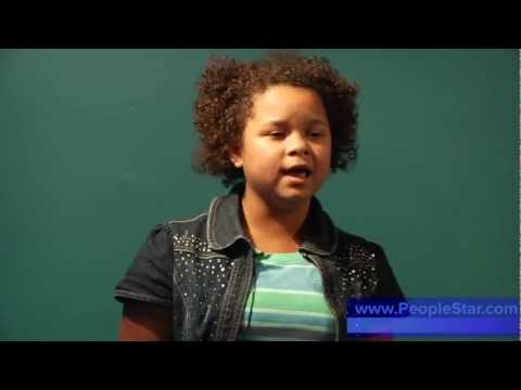 Rachel Crow - BEFORE The X Factor - First Audition