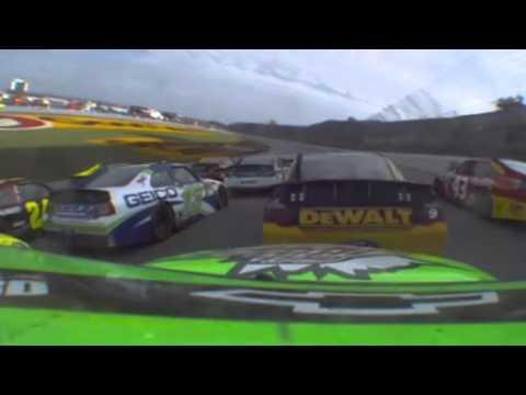Dale Earnhardt Jr  onboard Green White Checkered finish Talladega