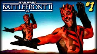 Star Wars Battlefront 2 - Funny Moments #1 (Mighty Maul! Battlefront 2 Beta)