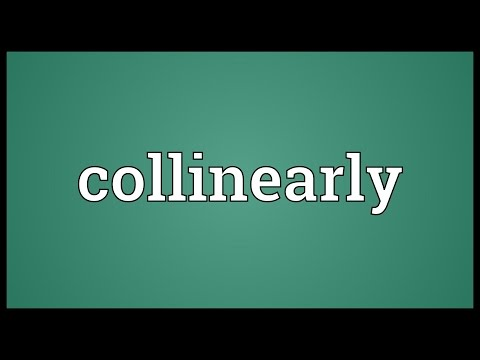 Header of collinearly