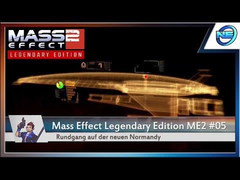 Rundgang auf der neuen Normandy #05 🌌 Mass Effect: Legendary Edition [ME2] 🚀 Gameplay Deutsch