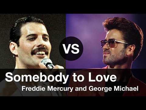 Download Somebody to Love, Compare Freddie Mercury vs George Michael. Somebody to Love 프레디 머큐리 vs 조지 마이클 비교 Mp4 baru