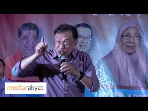 Anwar Ibrahim: Ucapan Grand Finale PRK Dun Rantau 12/04/2019