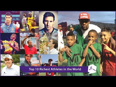 Top 10 Richest Athletes in the World 2014