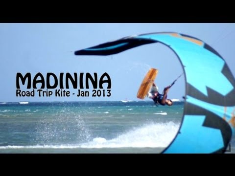 MADININA - Trip Kite - Martinique - Jan 2013