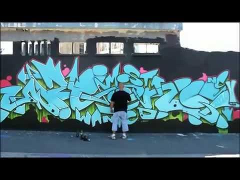 Modacalle Zapatillas urbanas Peru grafitis en las calles de Paris.mp4