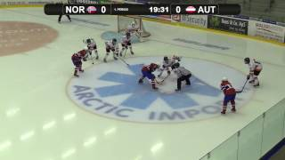Норвегия до 18 : Австрия до 18