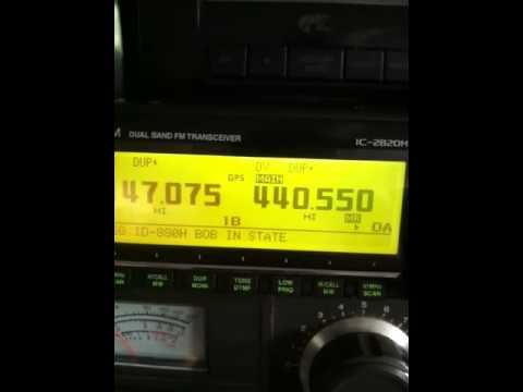 Dstar on Icom IC-2820H
