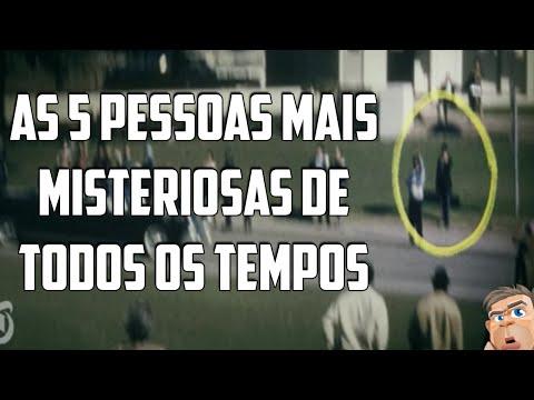AS 5 PESSOAS MAIS MISTERIOSAS DE TODOS OS TEMPOS!
