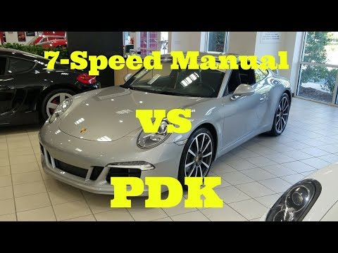 Porsche 911 (991) 7-Speed Manual Transmission Road Test