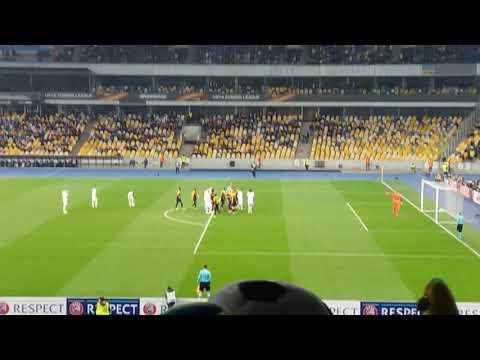 Динамо- Янг Бойс 2й гол ДИНАМО. Забив Микола Морозюк