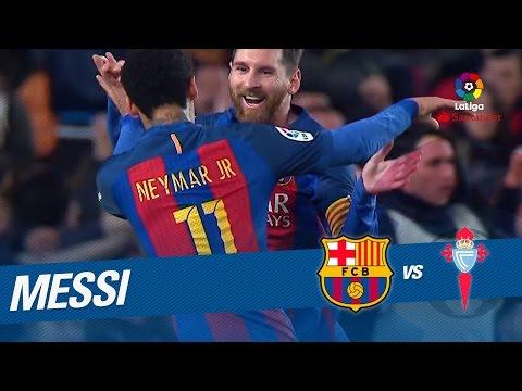 Golazo de Messi (1-0) FC Barcelona vs Celta de Vigo